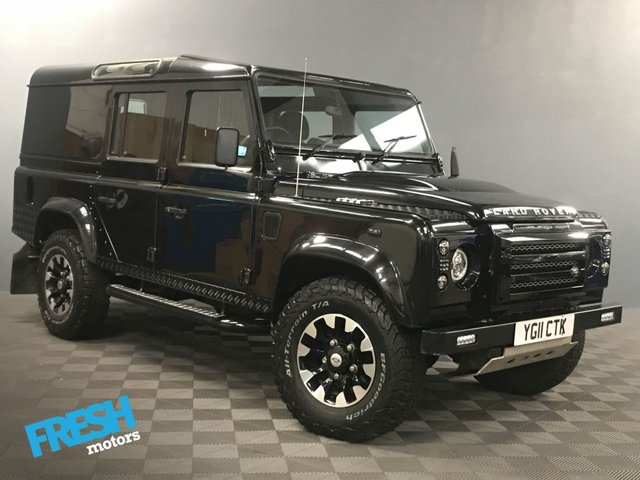 USED 2011 11 LAND ROVER DEFENDER 110 2.4 TD COUNTY UTILITY WAGON  * 0% Deposit Finance Available