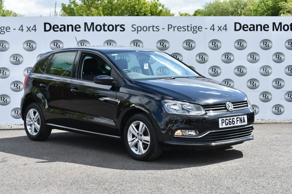 USED 2017 66 VOLKSWAGEN POLO 1.0 MATCH EDITION 5d 60 BHP