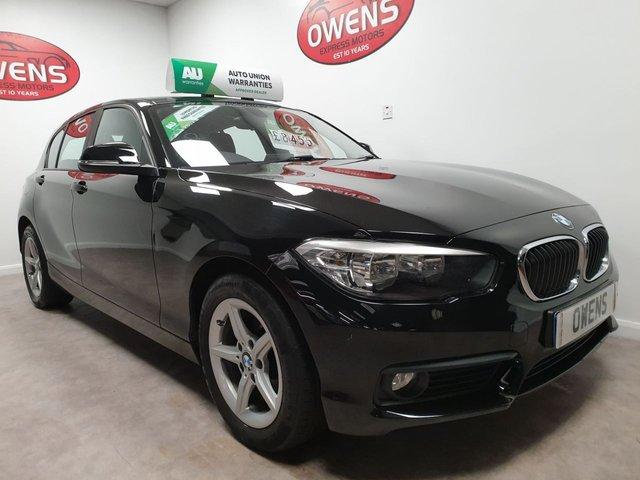 2015 15 BMW 1 SERIES 1.5 116D SE 5d 114 BHP
