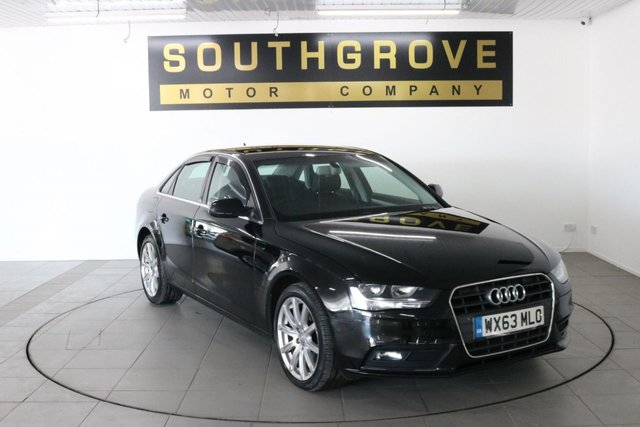 USED 2013 AUDI A4 2.0 TDI  SE TECHNIK MULTITRONIC 4d 177 BHP