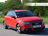 2012 AUDI A1 1.4 TFSI CONTRAST EDITION 3d 122 BHP SOLD