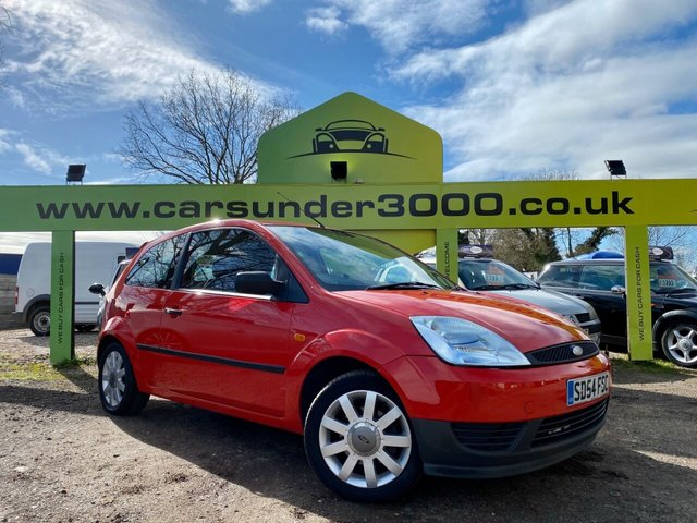 USED 2004 54 FORD FIESTA 1.2 FINESSE 16V 3d 74 BHP