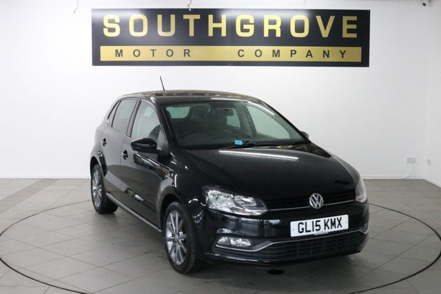 USED 2015 15 VOLKSWAGEN POLO 1.4 SE DESIGN TDI BLUEMOTION 5d 75 BHP