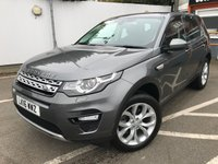 USED 2016 16 LAND ROVER DISCOVERY SPORT 2.0 TD4 HSE 5d 180 BHP