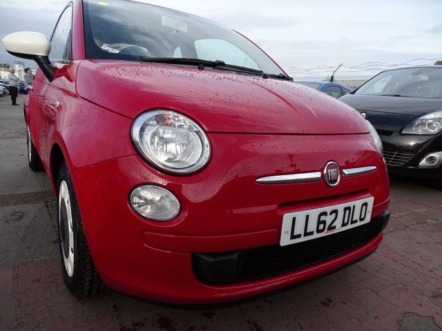 USED 2012 62 FIAT 500 1.2 COLOUR THERAPY GREAT FIRST CAR