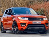 USED 2015 65 LAND ROVER RANGE ROVER SPORT 3.0 SDV6 AUTOBIOGRAPHY DYNAMIC 5d 306 BHP