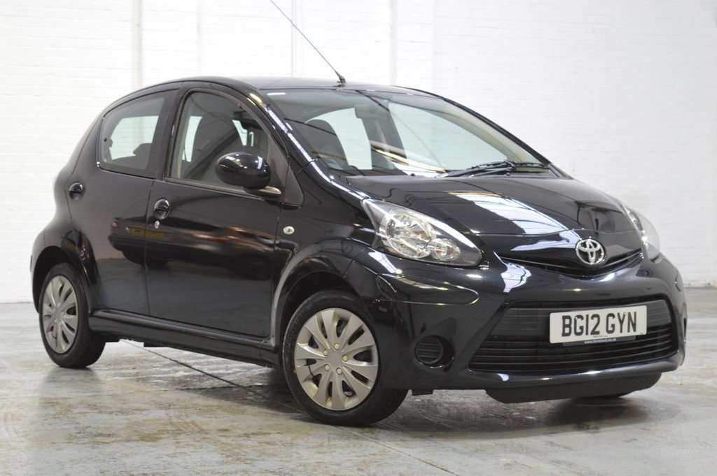 USED 2012 12 TOYOTA AYGO 1.0 VVT-I ICE 5d 68 BHP Low Mileage + Recently Serviced