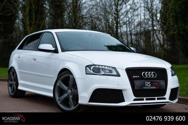 USED 2011 61 AUDI A3 2.5 TFSI Sportback S Tronic quattro 5dr NAV+AUDI EXCLUSIVE LEATHER