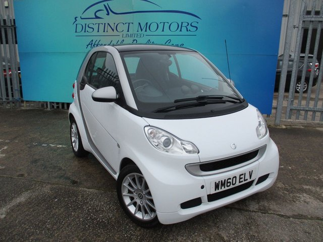 USED 2011 60 SMART FORTWO 1.0 PASSION MHD 2d 71 BHP