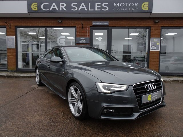 USED 2012 62 AUDI A5 1.8 SPORTBACK TFSI S LINE 5d 170 BHP 1 LADY OWNER FROM NEW, FULL SERVICE HISTORY WITH IT JUST SERVICED AT 124K, MOT NOV 2020, HPI CLEAR, READ OUR 5 STAR REVIEWS ON AUTOTRADER!