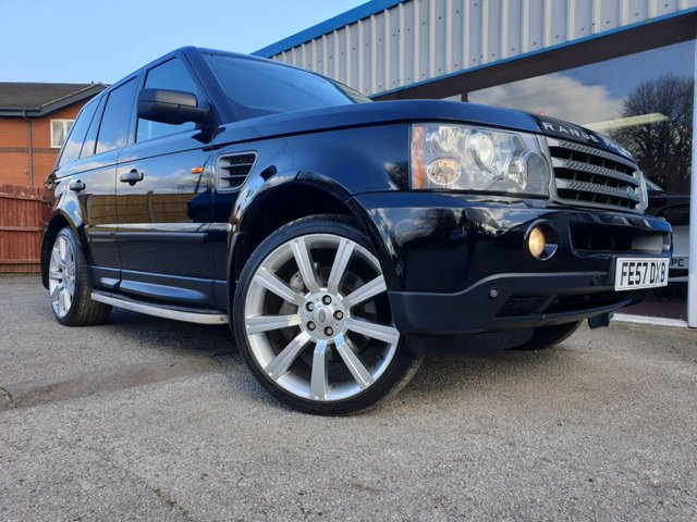 USED 2007 57 LAND ROVER RANGE ROVER SPORT 2.7 TDV6 SPORT HSE 5d 188 BHP