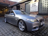 USED 2012 62 BMW 5 SERIES 2.0 520D M SPORT TOURING 5d 181 BHP (Drive Away Today)