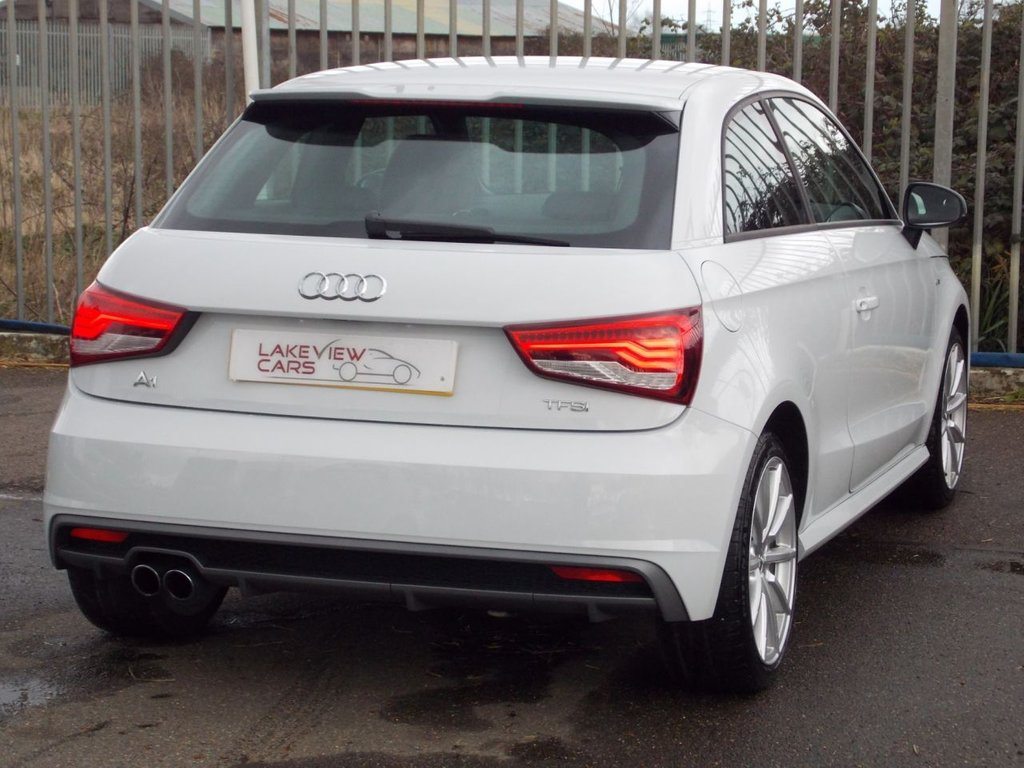 USED 2017 66 AUDI A1 1.4 TFSI S LINE 3d 148 BHP ** SPECIAL FACEBOOK ONLY OFFER ** ... OWN FROM AS LITTLE AS £169 DEPOSIT AND £279 P/M (full details available on request - subject to T&C's and acceptance)