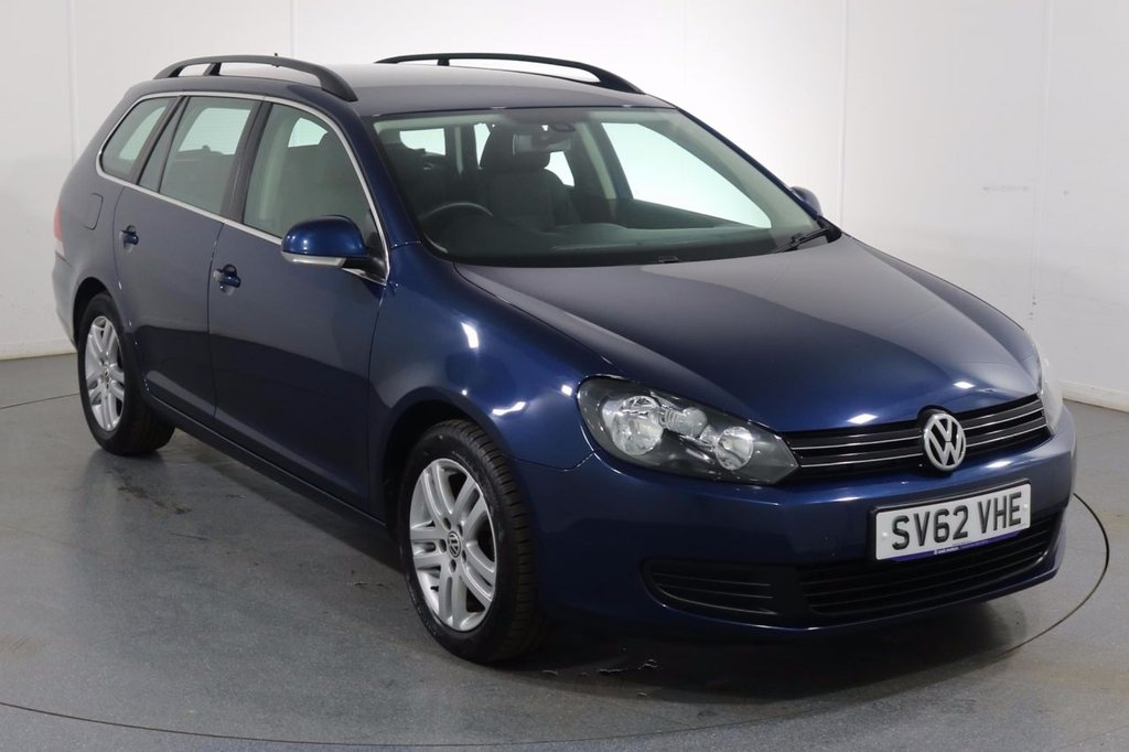 USED 2012 62 VOLKSWAGEN GOLF 1.6 SE TDI BLUEMOTION 5d 103 BHP Demo and 2 OWNERS with 8 Stamp SERVICE HISTORY
