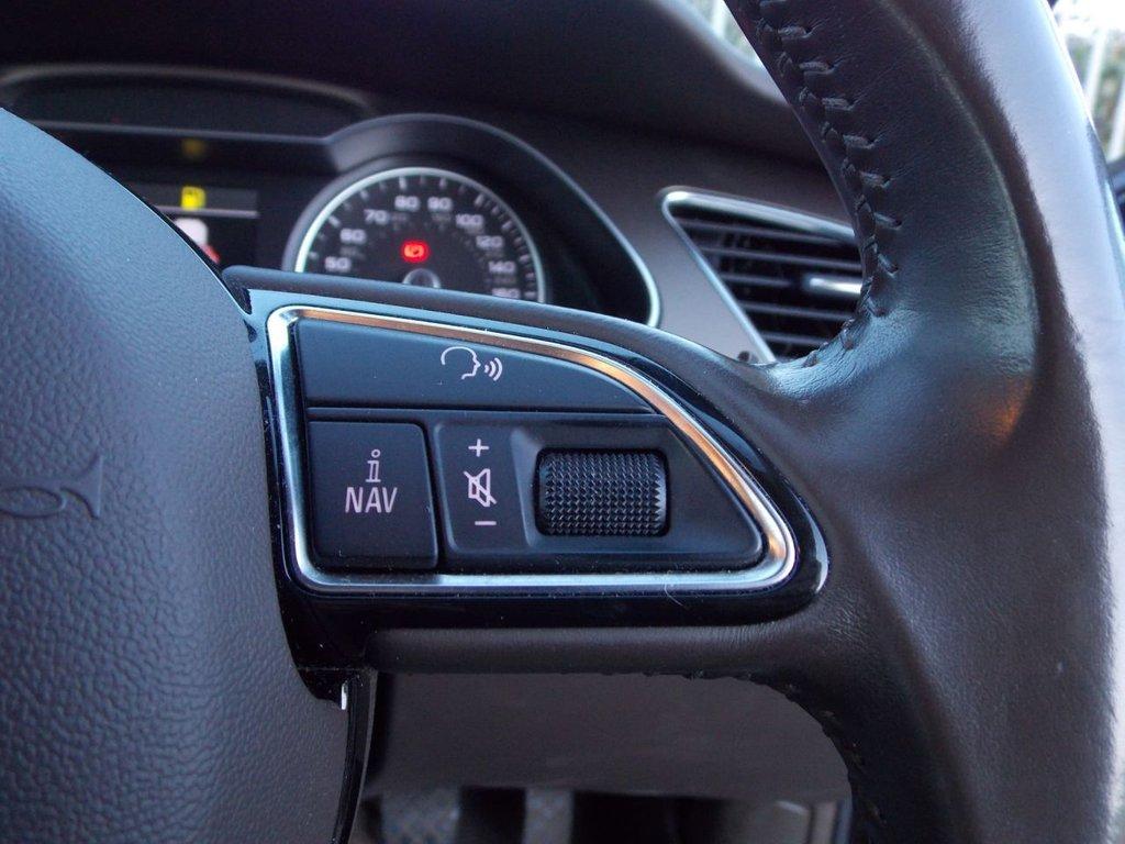 USED 2013 63 AUDI A4 2.0 AVANT TDI SE TECHNIK 5d 134 BHP