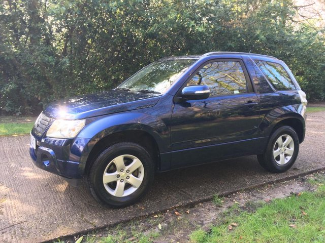USED 2009 59 SUZUKI GRAND VITARA 1.6 SZ3 3d 105 BHP 4WD 4X4  LOW MILEAGE FINANCE ME TODAY-UK DELIVERY POSSIBLE
