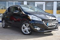 USED 2012 62 PEUGEOT 208 1.2 ACTIVE 3d 82 BHP NO DEPOSIT FINANCE AVAILABLE