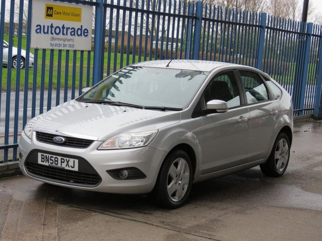 USED 2008 58 FORD FOCUS 1.6 STYLE 5dr Air con CD player Electric windows ULEZ Compliant 5 SPEED MANUAL, ULEZ COMPLIANT, AIR CONDITIONING, CD RADIO