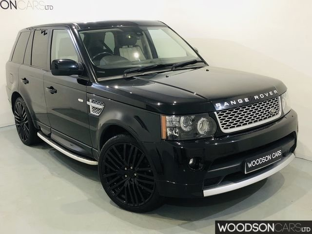 USED 2011 61 LAND ROVER RANGE ROVER SPORT 5.0 V8 AUTOBIOGRAPHY SPORT 5DR AUTOMATIC Supercharged Monster