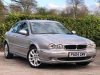 2004 JAGUAR X-TYPE 2.5 V6 SE 4d 195 BHP £1495.00