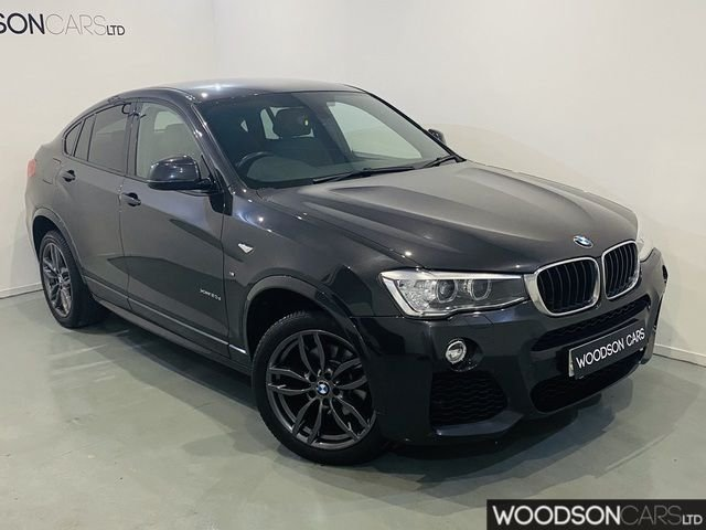 USED 2015 65 BMW X4 2.0 XDRIVE20D M SPORT 4DR AUTOMATIC Full Service History / Sat Nav / Bluetooth / Leather