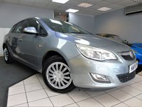 USED 2011 11 VAUXHALL ASTRA 1.4 EXCLUSIV 5d 85 BHP