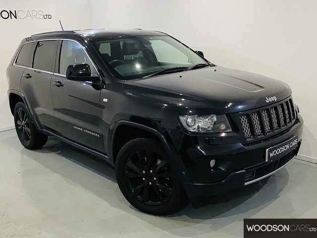 USED 2013 13 JEEP GRAND CHEROKEE 3.0 V6 CRD S-LIMITED 5DR AUTOMATIC 2 Previous Owners / Fully Loaded / Lower Road Tax