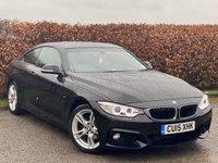 USED 2015 15 BMW 4 SERIES 2.0 420D M SPORT 2d * SPORT * SATELLITE NAVIGATION * BLUETOOTH *