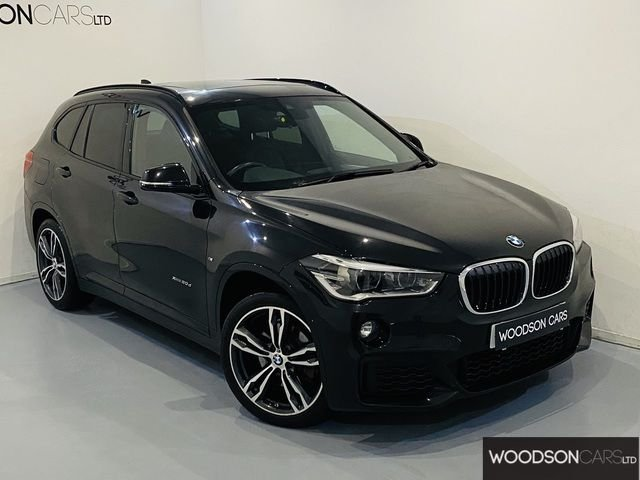 USED 2016 16 BMW X1 2.0 XDRIVE20D M SPORT 5DR AUTOMATIC Full BMW Service History / Panoramic Roof / Sat Nav