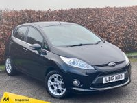 USED 2012 12 FORD FIESTA 1.4 ZETEC TDCI 5d * AVERAGE 62.8 MILES PER GALLON * £20.00 A YEAR ROAD TAX *