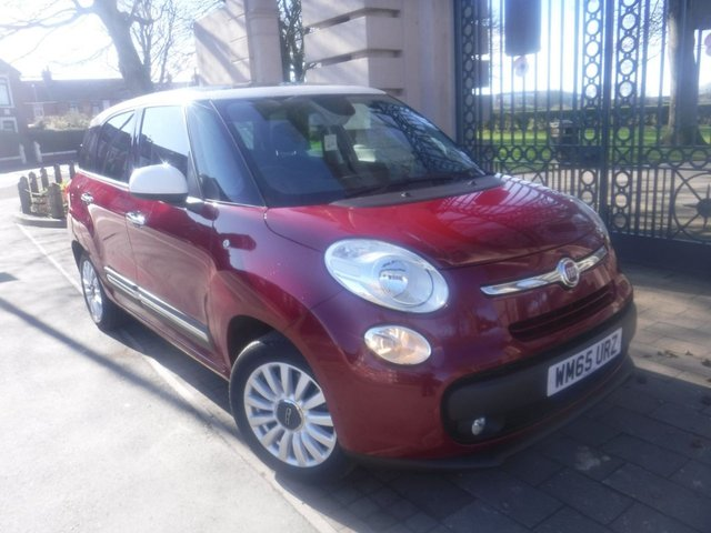 USED 2015 65 FIAT 500L MPW 1.6 MULTIJET LOUNGE 5d 120 BHP £30 TAX*7 SEATS*ELECTRIC OPENING PANORAMIC  ROOF*A/C*REAR PARKING SENSORS*CITY STEERING