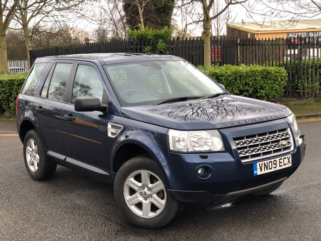 2009 09 LAND ROVER FREELANDER 2.2 TD4 E GS 5d 159 BHP