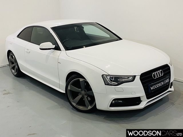 USED 2014 14 AUDI A5 2.0 TDI BLACK EDITION 2DR Bluetooth / Xenon Lights