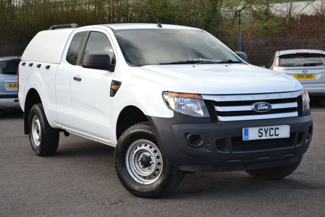 USED 2015 65 FORD RANGER 2.2 XL 4X4 DCB TDCI 4d 148 BHP COLOUR CODED CANOPY ~ 2 KEYS ~ 6 MONTHS WARRANTY