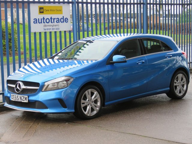 USED 2016 65 MERCEDES-BENZ A-CLASS 2.1 A 200 D SPORT 5dr Sat nav Full leather Rear camera Cruise ULEZ Compliant Finance arranged Part exchange available Open 7 days ULEZ Compliant