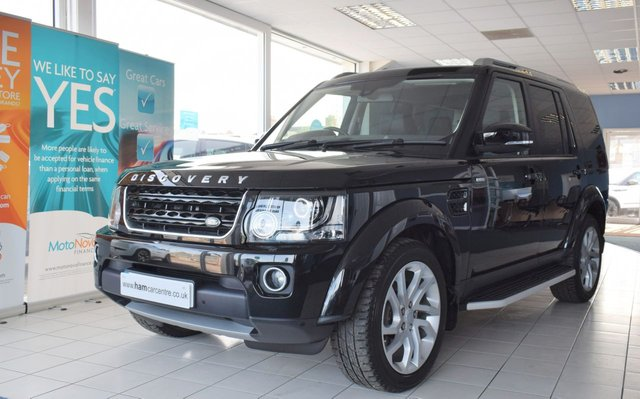 2016 16 LAND ROVER DISCOVERY 4 3.0 SDV6 LANDMARK 5d 255 BHP LOW-MILES REAR DVDS