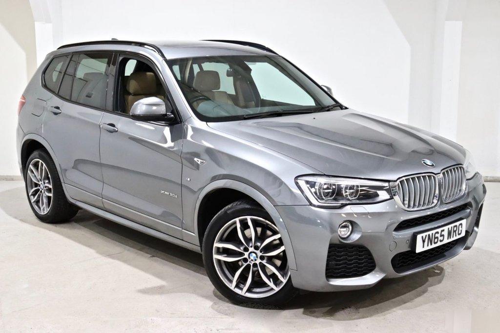 USED 2015 65 BMW X3 3.0 XDRIVE30D M SPORT 5d 255 BHP