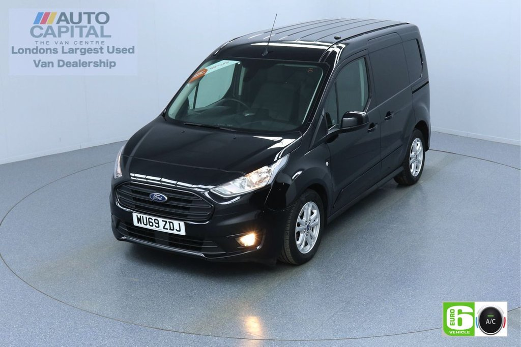 USED 2019 69 FORD TRANSIT CONNECT 1.5 200 LIMITED TDCI 120 BHP L1 SWB AUTO 3 SEATS EURO 6  KEYLESS | AIR CON | PARKING SENSORS | ALLOY WHEELS