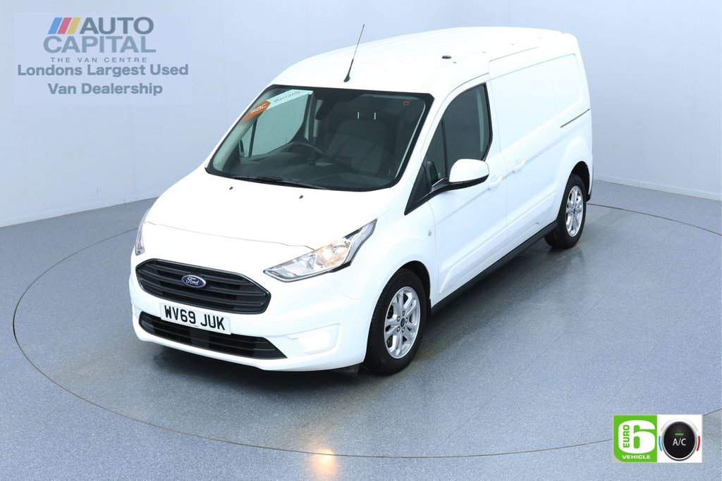 USED 2019 69 FORD TRANSIT CONNECT 1.5 240 LIMITED TDCI 120 BHP L2 LWB AUTO 3 SEATS EURO 6  AIR CON | PARKING SENSORS | ALLOY WHEELS
