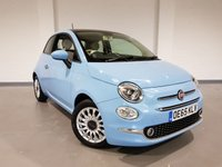 USED 2015 65 FIAT 500 1.2 LOUNGE 3d 69 BHP