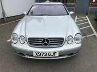 USED 2000 X MERCEDES-BENZ CL 5.0 CL 500 2d 302 BHP ONLY 29,000 MILES !!