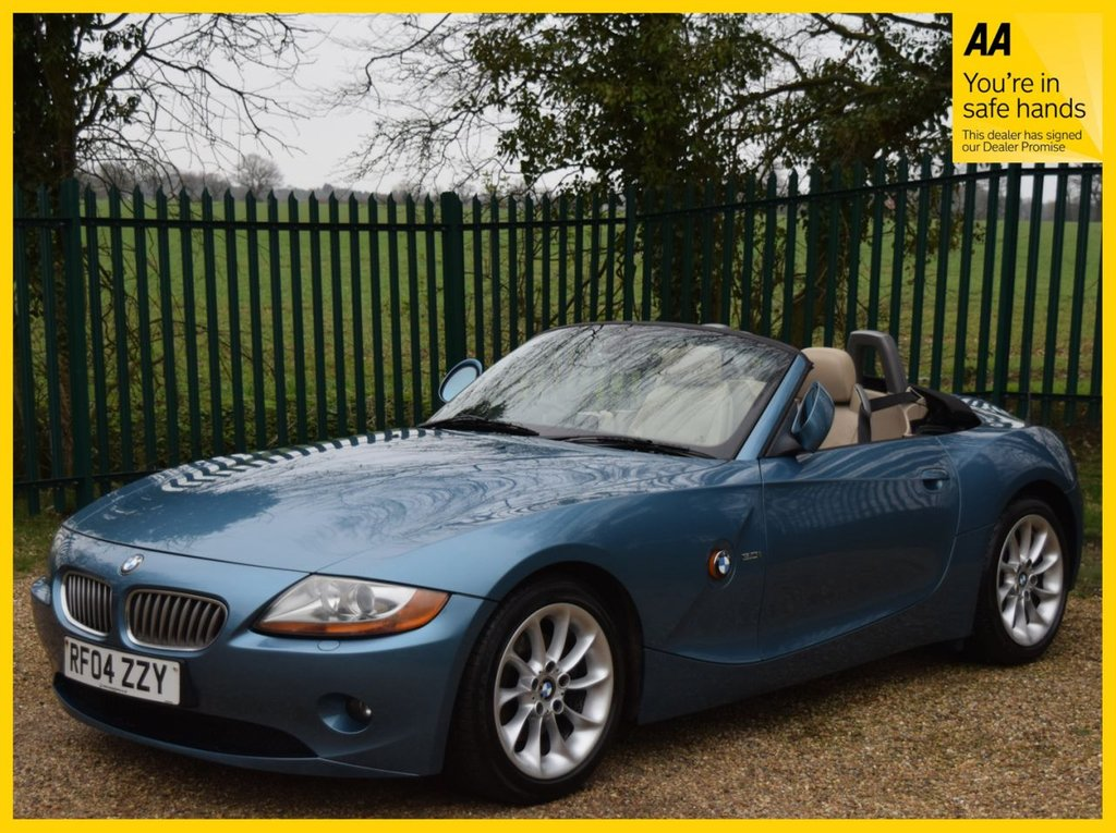 USED 2004 04 BMW Z4 3.0 Z4 SE ROADSTER 2d 228 BHP **M SPORTS SUSPENSION, HEATED SEATS, ULEZ EXCEMPT, TV FUNCTION**