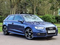 USED 2015 64 AUDI A3 1.8 TFSI S LINE 3d 178 BHP £237 PCM With £1249 Deposit
