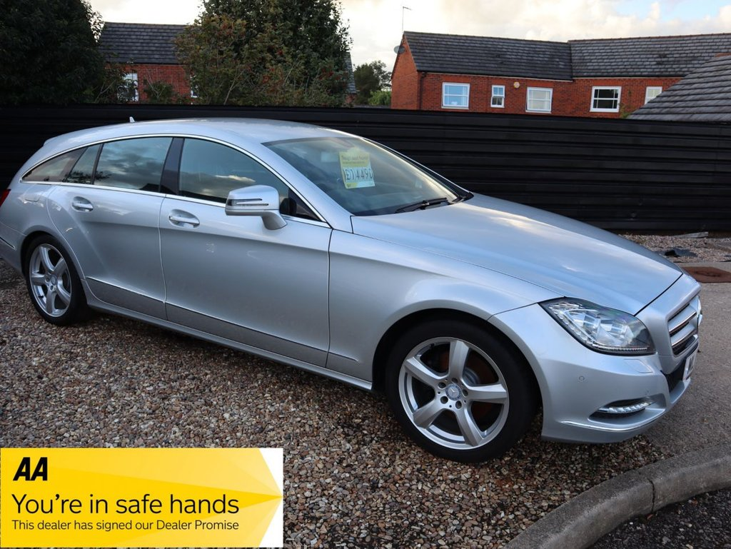 USED 2014 14 MERCEDES-BENZ CLS-CLASS 3.0 CLS350 CDI BLUEEFFICIENCY 5d 262 BHP MERCEDES DIGITAL SERVICE HISTORY