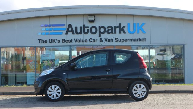 USED 2014 14 PEUGEOT 107 1.0 ACTIVE 3d 68 BHP LOW DEPOSIT OR NO DEPOSIT FINANCE AVAILABLE