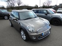 2011 MINI HATCH COOPER 1.6 COOPER 3d 122 BHP £4695.00
