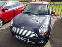 2007 MINI HATCH COOPER 1.6 COOPER 3d 118 BHP £2295.00