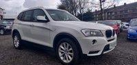 USED 2013 13 BMW X3 2.0 20d SE xDrive 5dr DRIVE AWAY TODAY+BIG SPEC+MINT