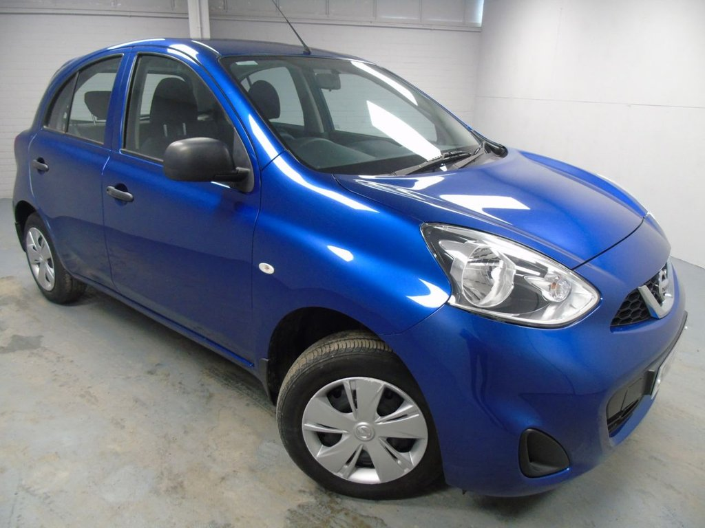 USED 2014 NISSAN MICRA 1.2 VISIA 5d 79 BHP £115 a month, T&C's apply.