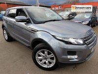 2013 LAND ROVER RANGE ROVER EVOQUE 2.2 ED4 PURE TECH 5d 150 BHP £12490.00
